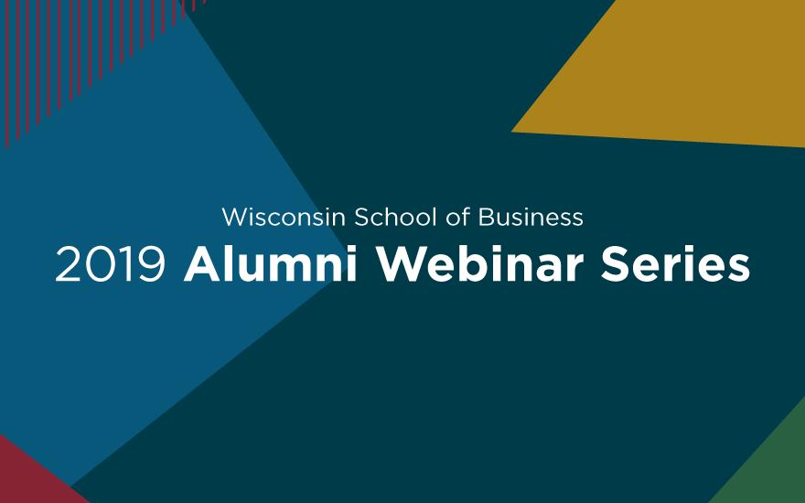 WSB 2019 Alumni Webinar Series