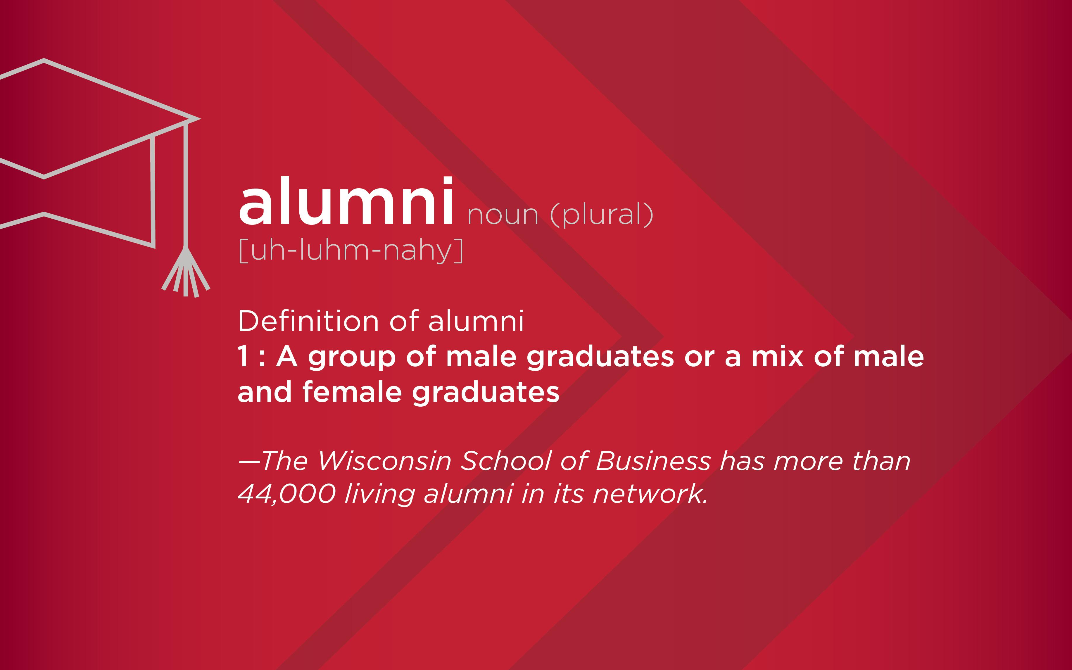 Alumni definition