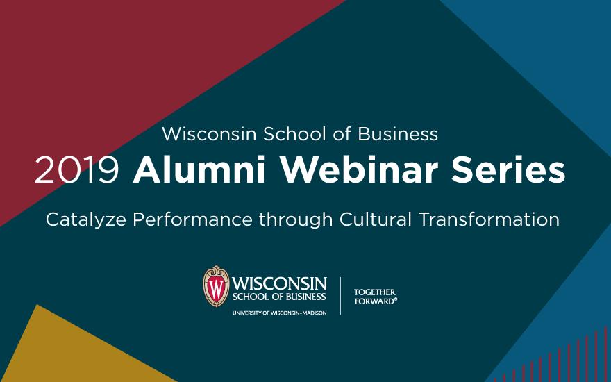2019 alumni webinar series