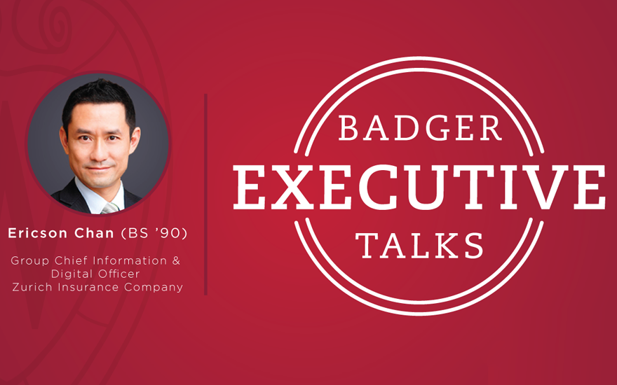 Badger Executive Talk logo with Ericson Chan
