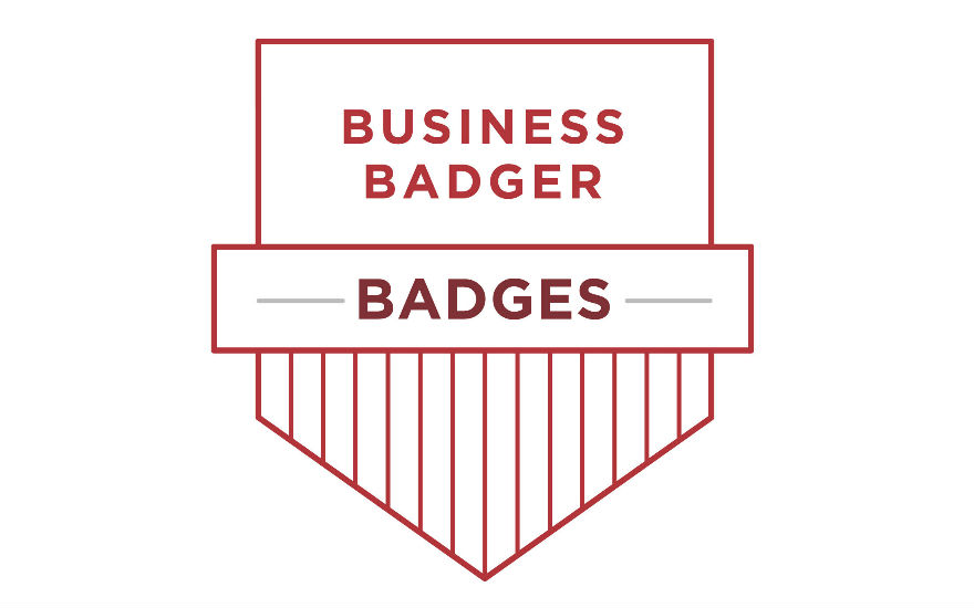 Business Badger Badges Logo