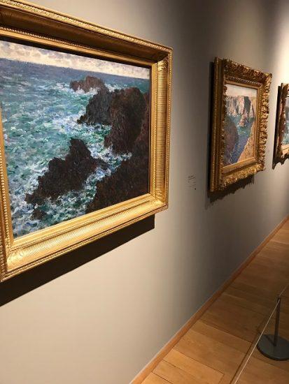 Paintings in museum