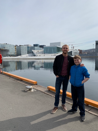 family in Oslo, Norway