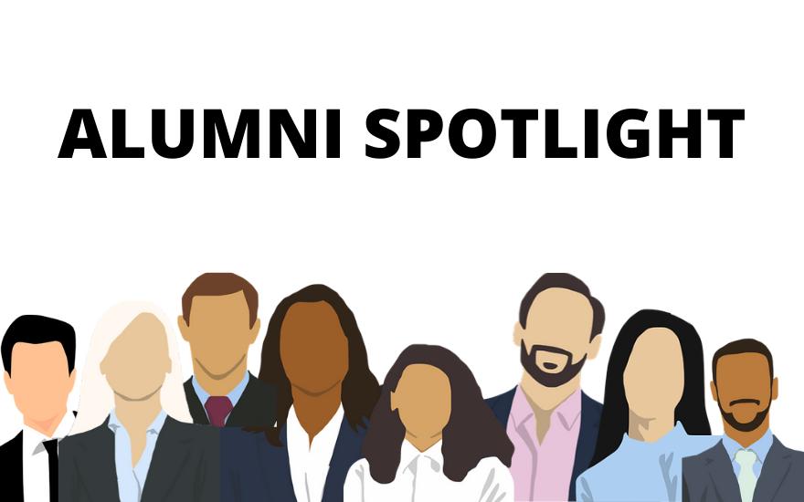 Alumni Spotlight Feature Photo White