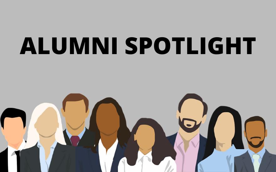 Alumni Spotlight Light Grey