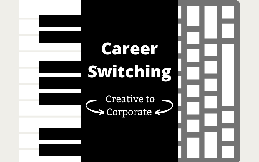 Feature Photo for Career Switching Article by Ian Hooper