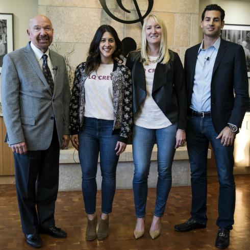 People attending Wisconsin Entrepreneurship Showcase