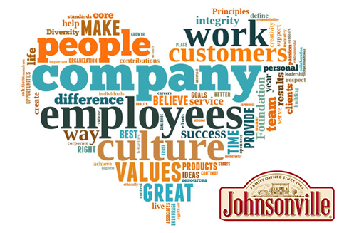 Heart of Johnsonville's values