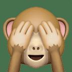 hiding monkey emoji