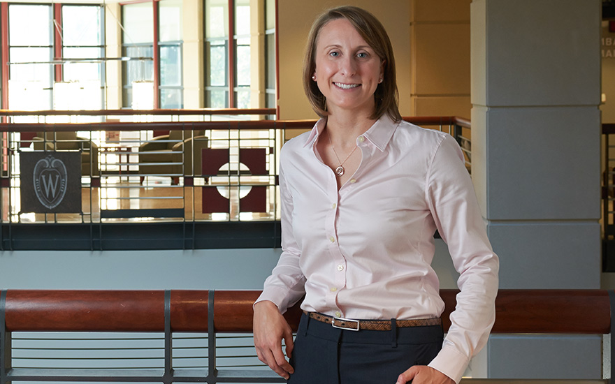 Assistant Professor Emily Griffith was awarded the 2018-2019 Cynthia and Jay Ihlenfeld Professorship for Inspired Learning.