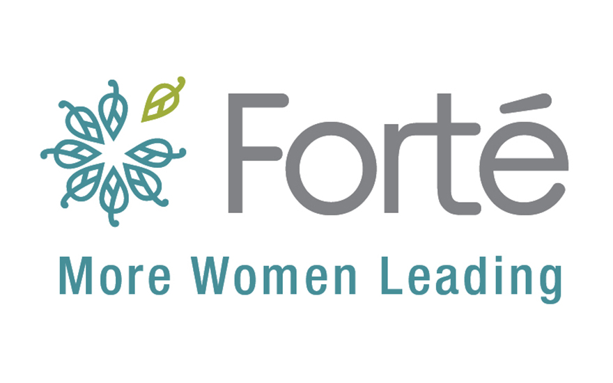 Logo for the nonprofit Forté