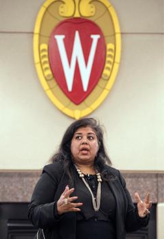 Weikel speaker Ann Mukherjee