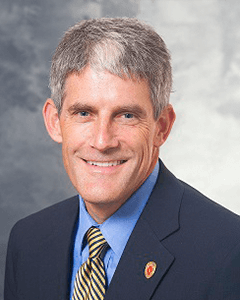 Headshot of Distinguished Alumni Award recipient Jim Berbee