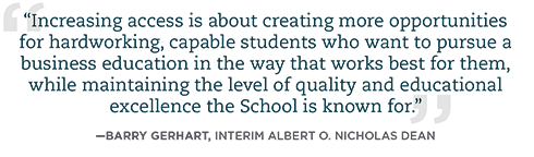 A Barry Gerhart quote about increasing access