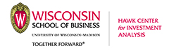 Wisconsin School of Buisness, Hawk Center for investment analysis logo