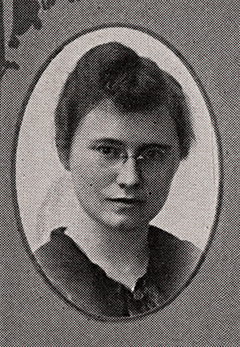 A headshot of Mary McNulty, UW-Madison's first female business graduate