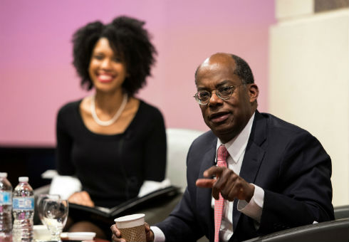 TIAA CEO Roger Ferguson Jr. speaks