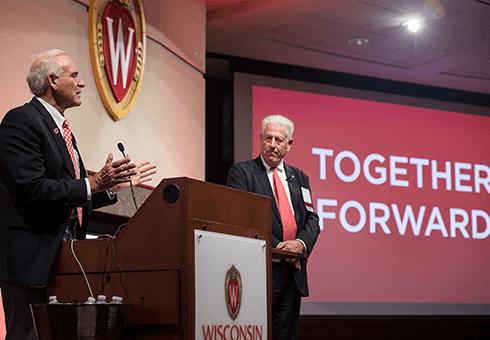 Two Naming Partners speak at anniversary gathering