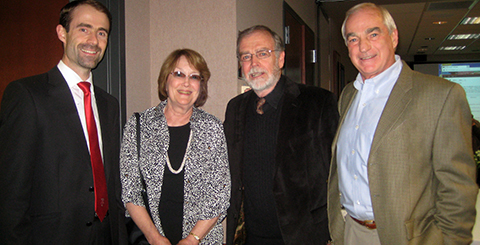 François Ortalo-Magné, Jane Pricer, Robert Pricer, and James Weinert