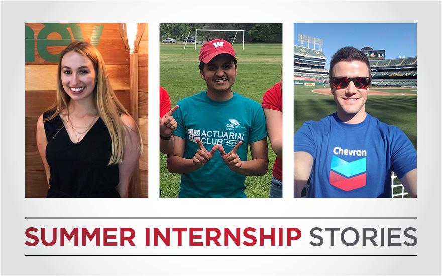 Summer internship stories