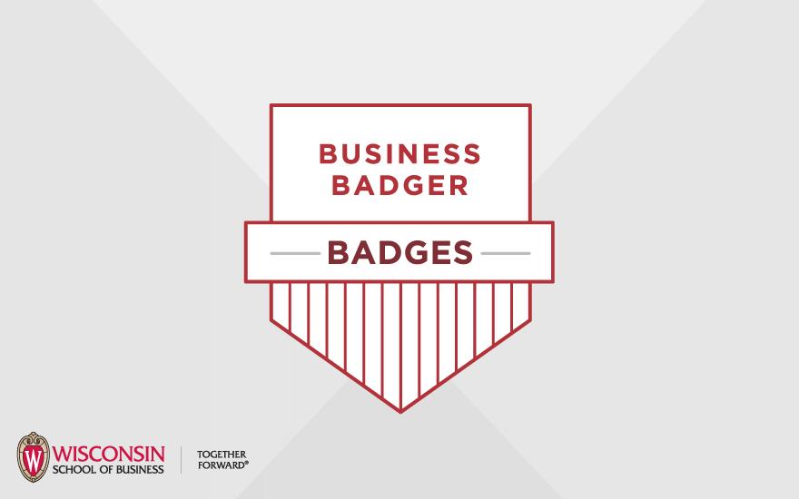 Shield Logo for Business Badger Badges