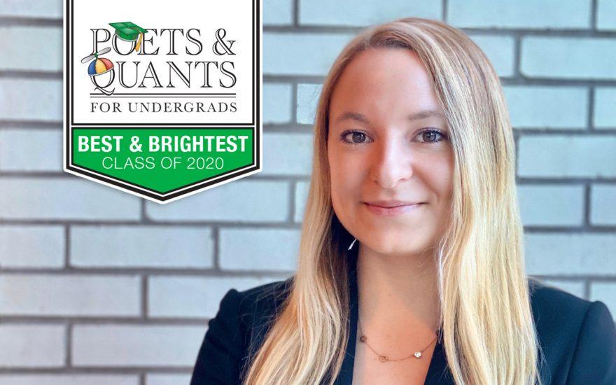 Jenna Scheffert Receives Best & Brightest Award