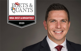 Chris Zaczyk win Poets & Quants 'Best and Brightest' award