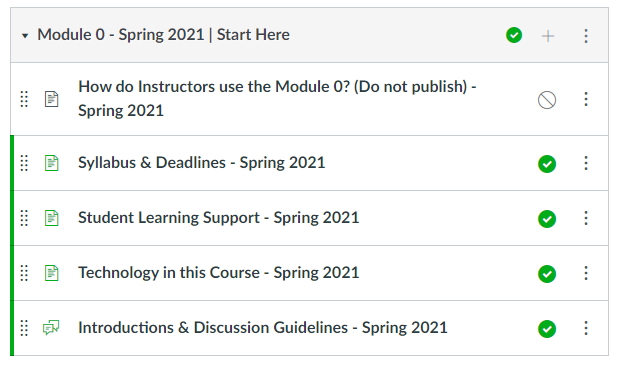 wsb Module 0 for spring 2020